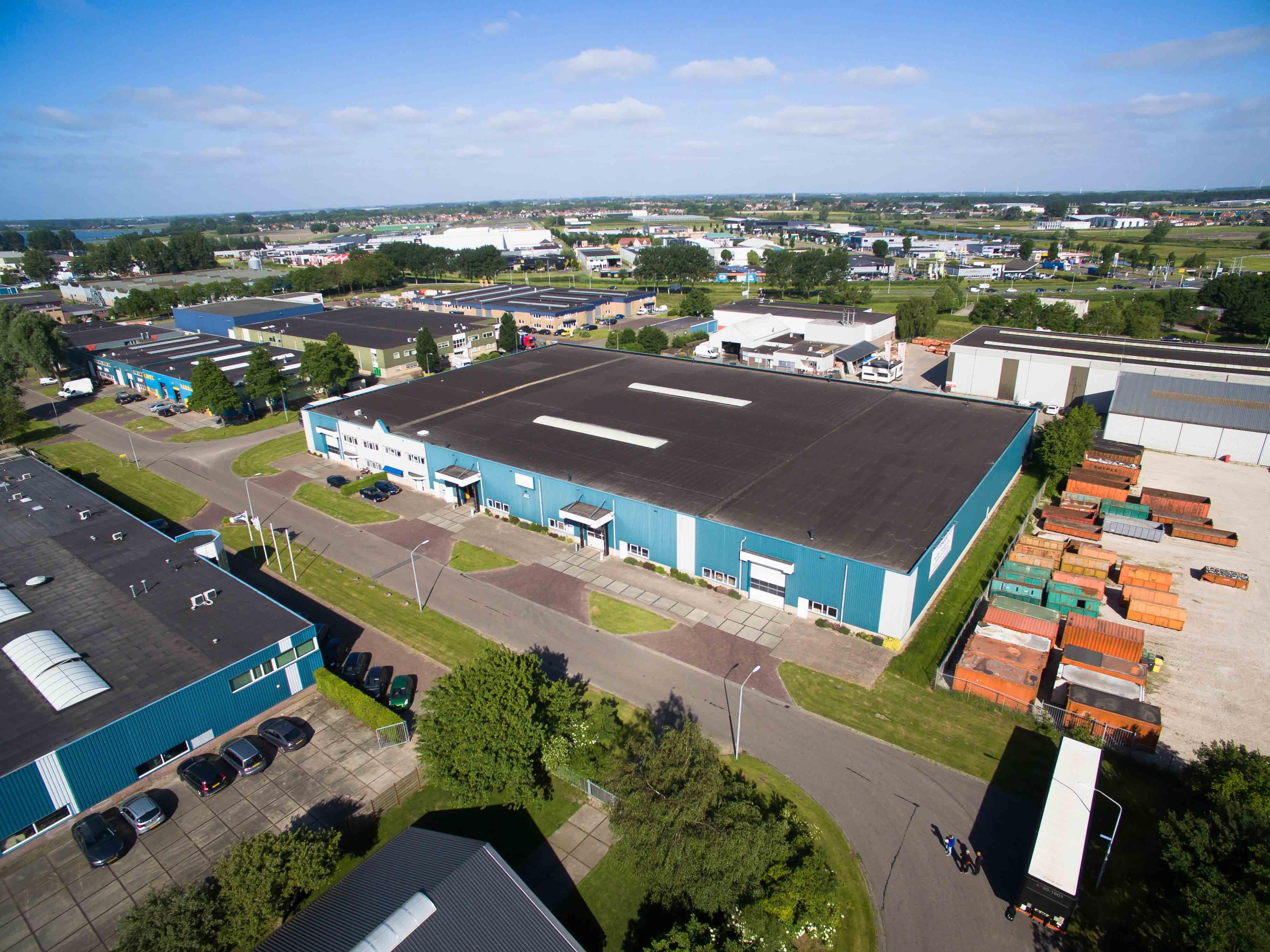 Kort over Molenaar Westfriesland Holding BV.